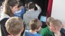 Viertklässler zu Besuch beim WPII-Kurs